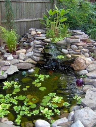 D Co Jardin Zen Avec Bassin Et Galets