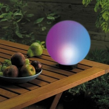 Globe solaire lumi re d 39 ext rieur design la redoute for Lumiere exterieur design