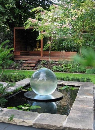 comment amenager jardin japonais