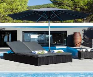 Avec l'été, le mobilier de jardin s'expose au soleil ! transat, chaise longue, bain de soleil grande largeur, ces meubles outdoor aux matières et styles différents, se combinentpour créer un joli salon de jardin où il fait bon se prélasser.Sélection de bains de soleil tendances pour lézarder tout l'été