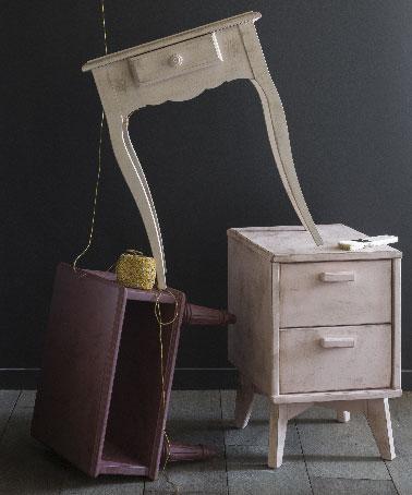 Meuble patin effet vieilli r alis avec patine lib ron for Patiner un meuble en metal