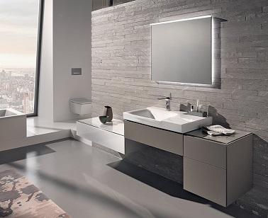une salle de bain design esth tique et moderne. Black Bedroom Furniture Sets. Home Design Ideas