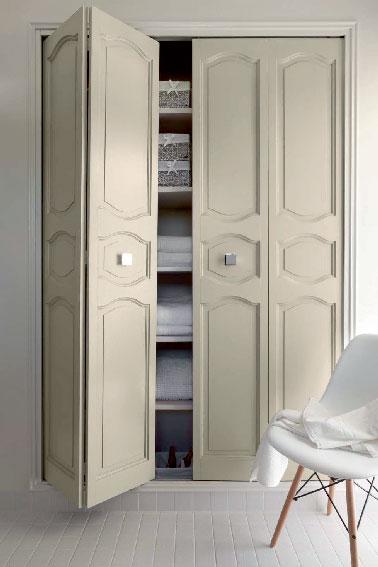 Peinture mat pour peindre porte placard couleur ivoire v33 - Porte de placard a peindre ...