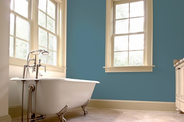 salle de bain couleur peinture gris bleu 1825. Black Bedroom Furniture Sets. Home Design Ideas