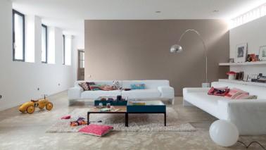 D co salon salle manger peinture et id e couleur salon - Placard mural synonyme ...