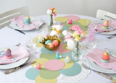 10 d co table de p ques faciles faire d co cool - Deco de table pour paques a faire soi meme ...