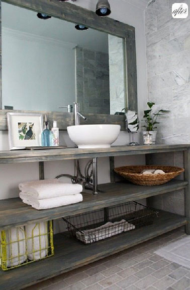 Mobilier design sur for Meuble toilette gifi