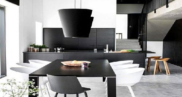 deco petit salon avec cuisine ouverte. Black Bedroom Furniture Sets. Home Design Ideas