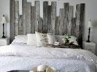 Fabriquer une tete de lit idee deco a faire soi meme pour - Fabriquer tete de lit en bois ...