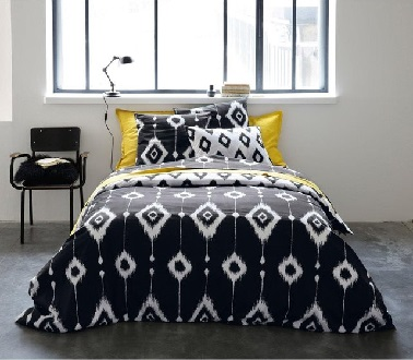 linge de lit pas cher pour gayer la chambre d co cool. Black Bedroom Furniture Sets. Home Design Ideas