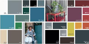 La peinture extérieure Multi-Matériaux déco Lab V33 permet de réaliser ses projets de décoration extérieure avec 26 couleurs peinture entre teintes neutres et vives dont 3 métallisées et 3 poudrées.