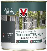 Peinture ext rieur multi mat riaux d colab v33 gris anthracite for Peinture tout support
