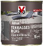 Pot peinture sol extérieur et terrasse en bois V33 disponible en 0.5L et 2.5L