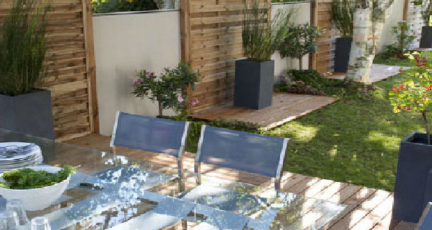 Terrasse en bois et composite id e am nagement pas cher for Idee amenagement terrasse