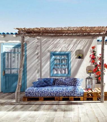 Epoustouflantes d co de terrasses 100 d tente d co cool for Acheter une balancelle de jardin
