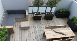 7 d co terrasses am nag es avec de la verdure - Amenager une terrasse en bois ...