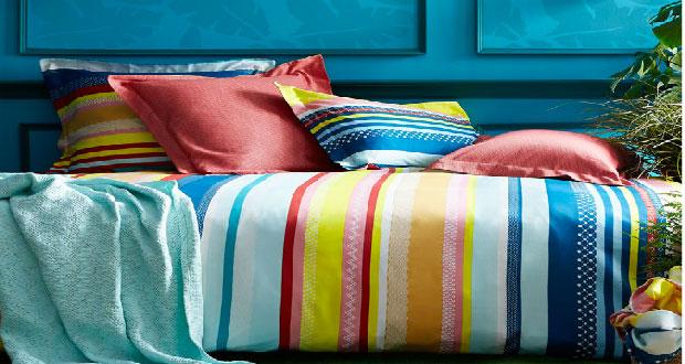 Véritable accessoire déco de la chambre le linge de lit prend des couleurs et motifs pour égayer la chambre. Notre sélection de linge de lit pour l'été à petits prix