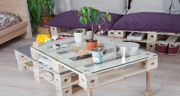 Des meubles en palette transformer comme on veut - Faire des meubles avec de la recup ...