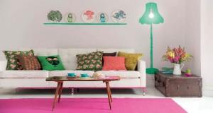 """Les gagnants du jeu concours """"Repeindre son salon"""" organisé par peinture Astral et Déco Cool choisissent parmi les 40 couleurs de la collection Echappée pour relooker leur salon avec une couleur tendance"""