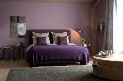 peinture couleur boudoir tollens inspir e par flamant. Black Bedroom Furniture Sets. Home Design Ideas