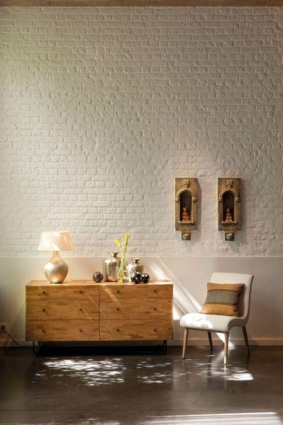 Peinture tollens 104 couleurs pour relooker ses murs for Peinture dans salon