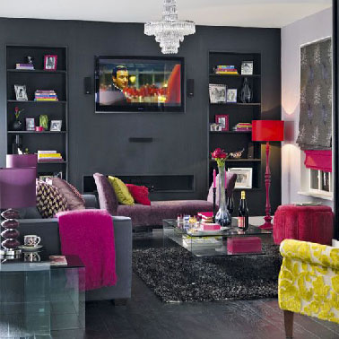 quelle couleur avec du gris anthracite dans sa d co. Black Bedroom Furniture Sets. Home Design Ideas