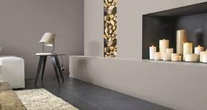 Pour peindre toutes les pièces intérieures la nouvelle peinture dépolluante de Castorama s'applique sur tous les supports : murs, plafond, boiseries et meubles bois ainsi que les radiateurs. peinture disponible en 50 couleurs prêtes à l'emploi.