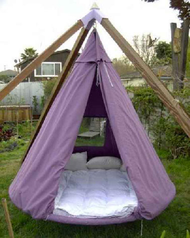 Tipi et tente de jardin en version originale d co cool - Comment faire un tipi ...