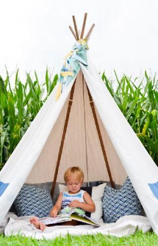 Tipi et tente de jardin en version originale d co cool for Tente enfant exterieur