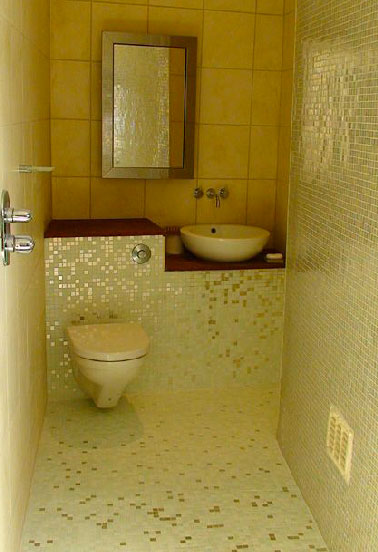 Best modele carrelage wc contemporary amazing house for Carrelage mural wc