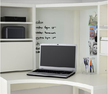 bureau ado avec rangement. Black Bedroom Furniture Sets. Home Design Ideas