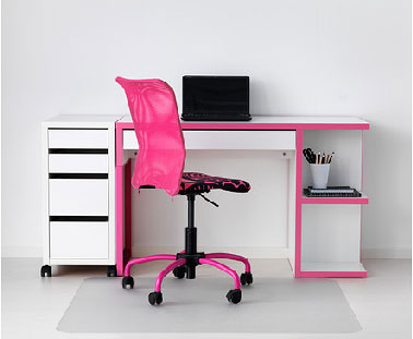 bureau enfant ikea pour fille romantique. Black Bedroom Furniture Sets. Home Design Ideas