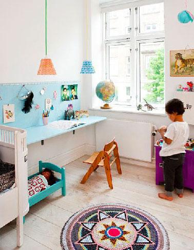 Bureau pour enfant avec tableau d 39 activit for Activite de bureau