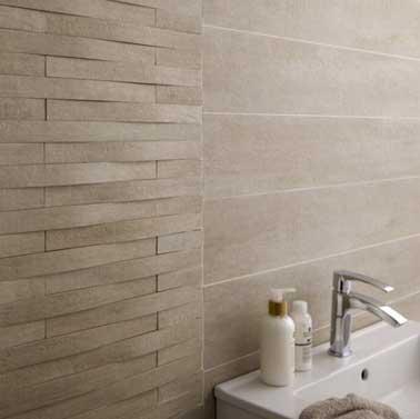 Mosaique En Gres Taiga Bombe Beige Compatible Avec Murs De Douche Prix 1495 EUR Leroy