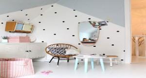 deco peinture chambre fille. Black Bedroom Furniture Sets. Home Design Ideas