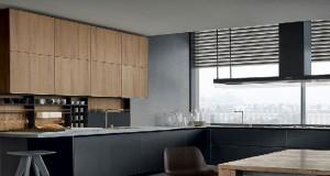 La cuisine noire s'accommode de tous les styles. Design en total look ou avec du gris, chaleureuse en noir et bois, moderne avec du blanc. des photos pour vous inspirer des idées déco de cuisine.