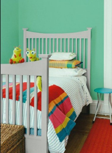peinture chambre enfant grise et vert ripolin. Black Bedroom Furniture Sets. Home Design Ideas