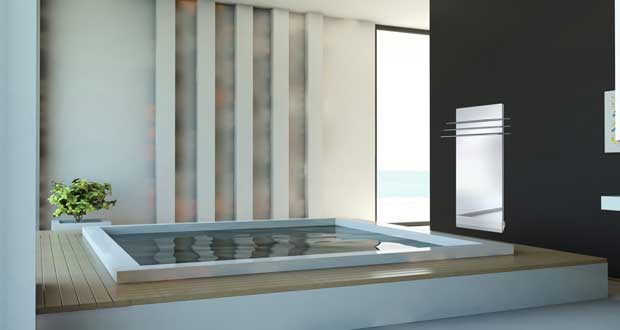 Le s che serviette electrique chouchoutte la salle de bain - Seche serviette salle de bain ...