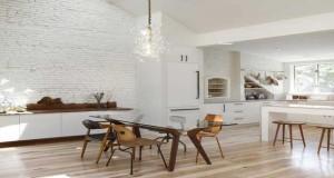 Cuisine Blanche Idées Déco Pour Sinspirer DecoCool - Carrelage beige cuisine pour idees de deco de cuisine