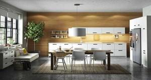 Envie d'une nouvelle cuisine Ikea ? Avec îlot central, en angle ou ouverte, conviviale et moderne voici 10 cuisines du catalogue 2016 pour changer de décoration.