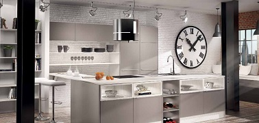 Cuisine style industriel leroy merlin for Cuisine industrielle chic