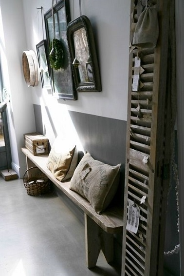 10 d co couloir qui donnent des id es deco cool for Decoration maison style campagne