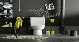 d co wc id e couleur et peinture pour toilettes sympa. Black Bedroom Furniture Sets. Home Design Ideas