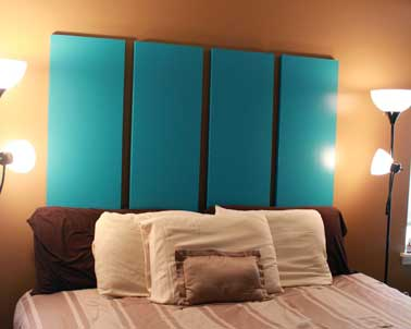 fabriquer une t te de lit avec porte placard pliante. Black Bedroom Furniture Sets. Home Design Ideas