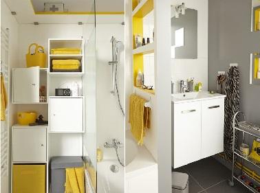 rangement gain de place salle de bain table de lit. Black Bedroom Furniture Sets. Home Design Ideas