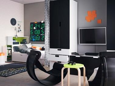 Bon Les Ados Garçons Aimeraient Tous Une Chambre Aux Allures De Studio Moderne.  Cu0027est