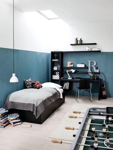 peinture chambre ado fille. Black Bedroom Furniture Sets. Home Design Ideas
