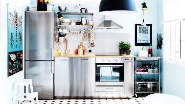 Kitchenette ikea et autres mini cuisines au top for Cuisine tout equipee