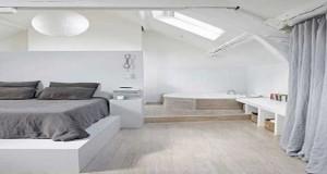 D co chambre id e d co couleur peinture chambre adulte for Idee chambre parentale avec salle de bain