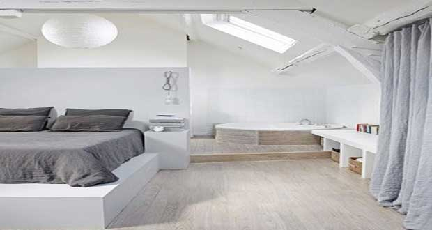Suite parentale une d co chambre tendance for Photo chambre parentale